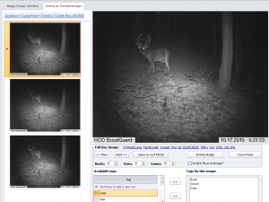 WISE trail camera software