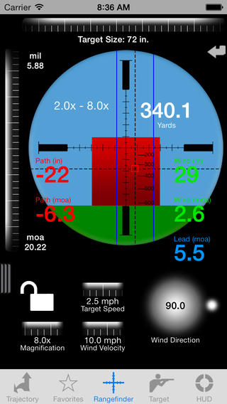 Free ballistics calculator for android