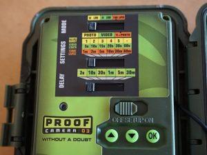 Primos Proof Cam 03 - Controls