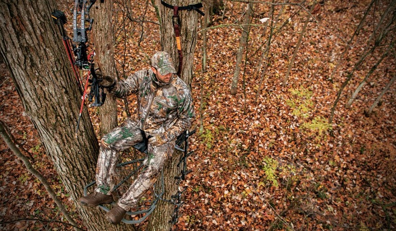 Best Tree Stands 2018 Lightweight Climbing Ladder Hang On Stands