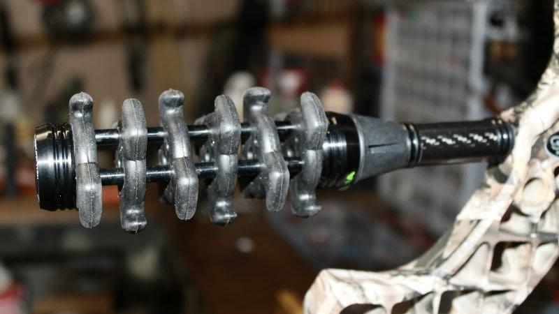 Bow Stabizlizer on a Compound Bow