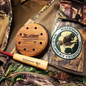 Woodhaven Turkey Friction Call with Vest